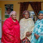 Mrs. Buhari with Mrs. Masari (right) and Mrs. Ambaru Wali (left)