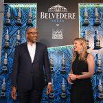 Belvedere President Rodney Williams (L) and RED CEO Deborah Dugan (R)