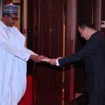 President Muhammadu Buhari Receives the New Ambassador, Republic of Korea to Nigeria, H.E Comrade Jon Tong Chol