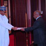 President Muhammadu Buhari Receives the New High Commissioner, Republic of Trinidad and Tobago to Nigeria, H.E Wendell Vincent Carlton De Landro