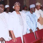 Senator Ajadi (2nd left) and Cross Section of APC Stakeholders from Kwara State