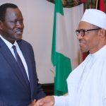 President Muhammadu Buhari receives Special Envoy from South Sudan and Minister of Petroleum, Hon Ezekiel Loi Gatkuoth