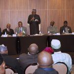 President Muhammadu Buhari addresses cross section of Nigerians