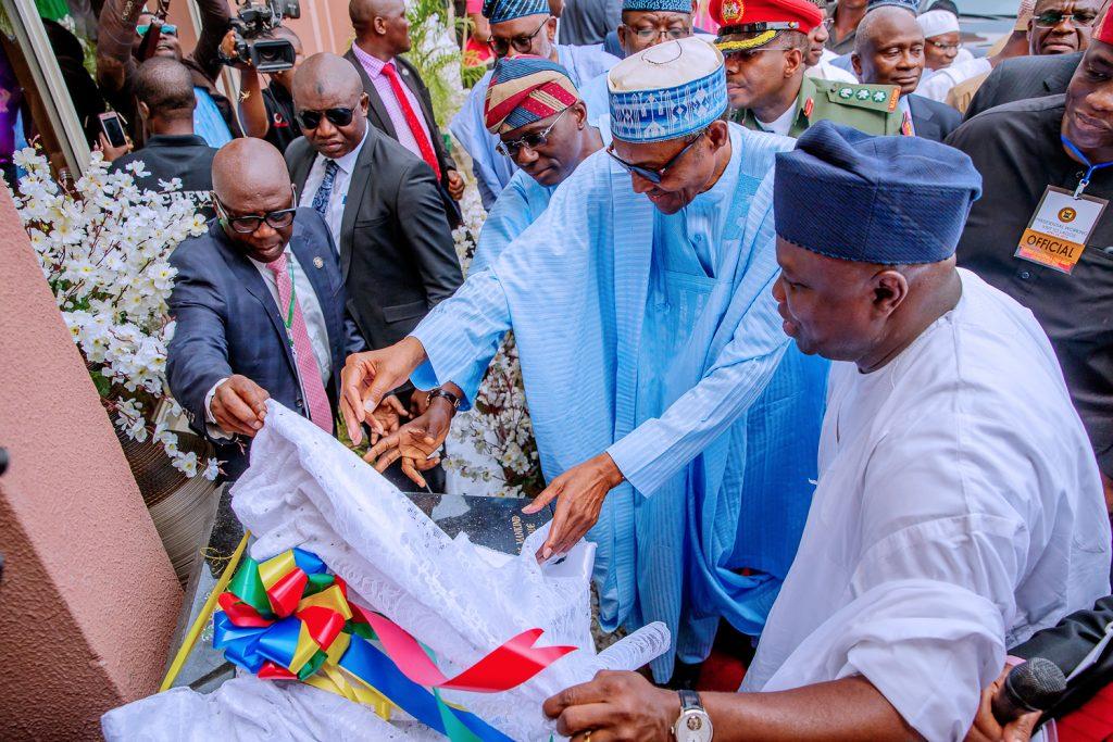 Ambode has performed satisfactorily -Buhari