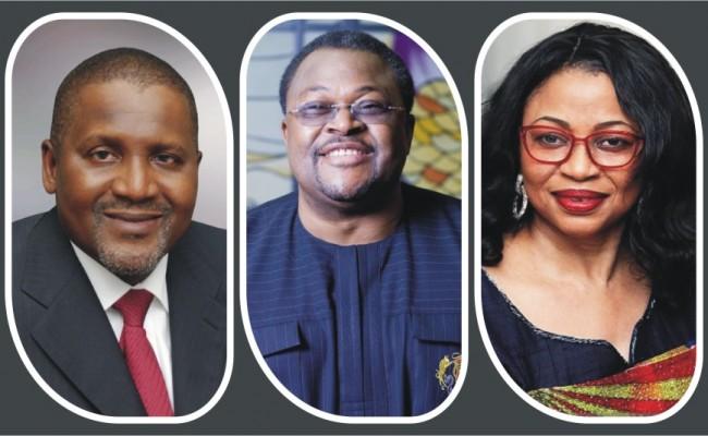 Good news for Dangote, Adenuga and Alakija as net worth soar