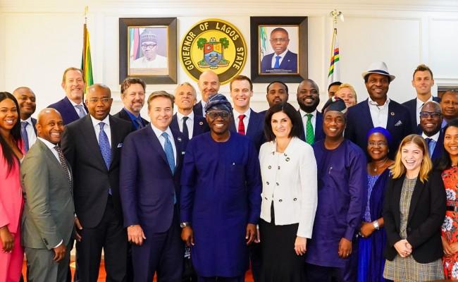 2020 Global Citizen Festival Photo news: Sanwo Olu receives inspection team of Global Citizen